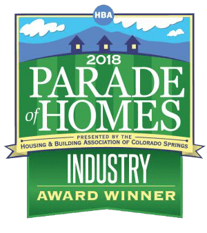 Parade of Homes Industry Award Winner Logo