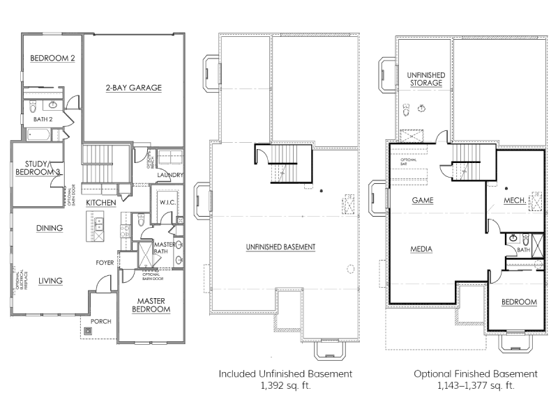 The Dupont Floor Plan Drawing