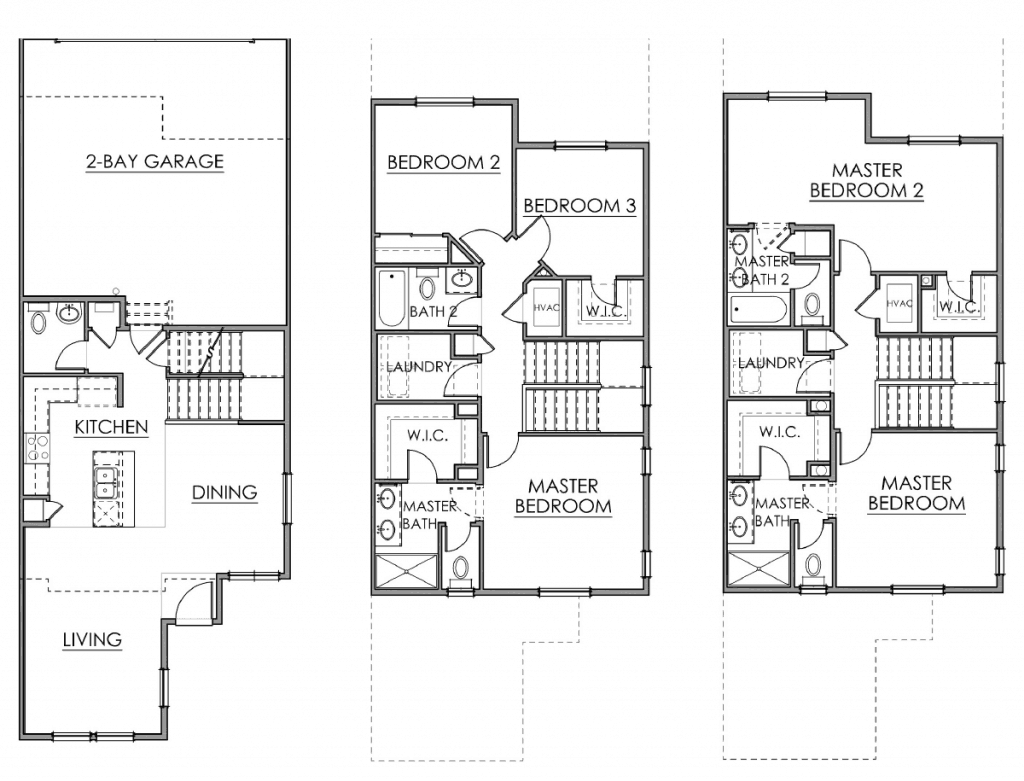 The Metropolitan Floor Plan Drawing
