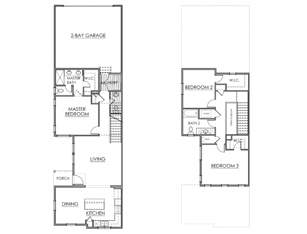 The Parque Floor Plan Drawing