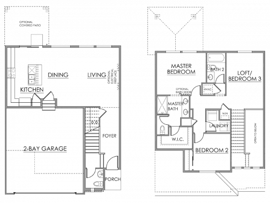 Poplar Floor Plan Drawing