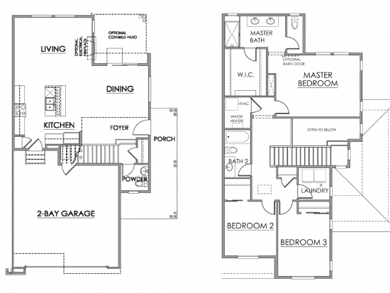 Alpine Floor Plan Drawing