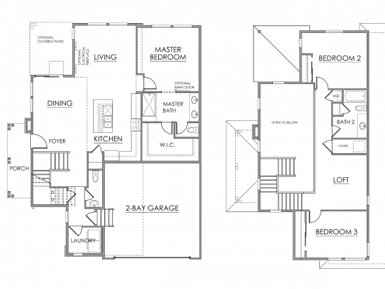 Savannah Floor Plan Drawing